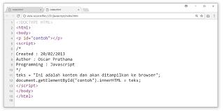 Programming komen
