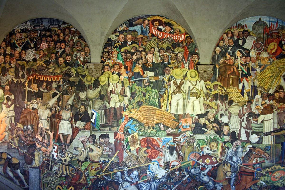 Rivera-Mural-riveras-history-of-mexico