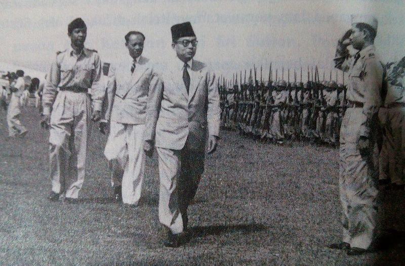 Kunjungan kerja Wakil Presiden Moh.Hatta ke Yogyakarta tahun 1950