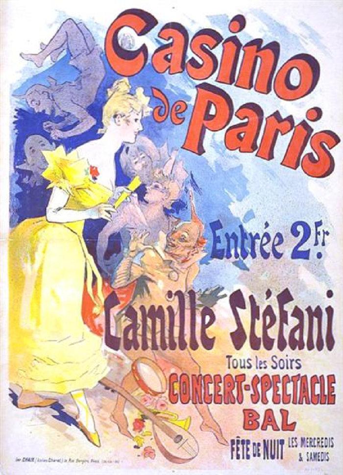 Casino de Paris, Camille Stéfani, 1891