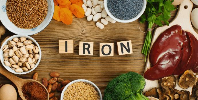 Bagaimana tahap kekurangan zat besi dalam tubuh ?