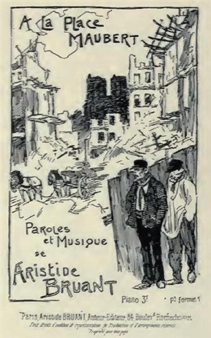 A La Place Maubert, 1886