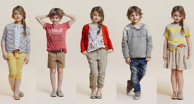 warna pakaian anak