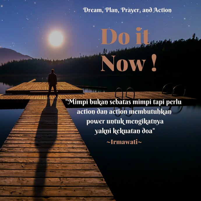 Dream,Plan,Prayer,and Action