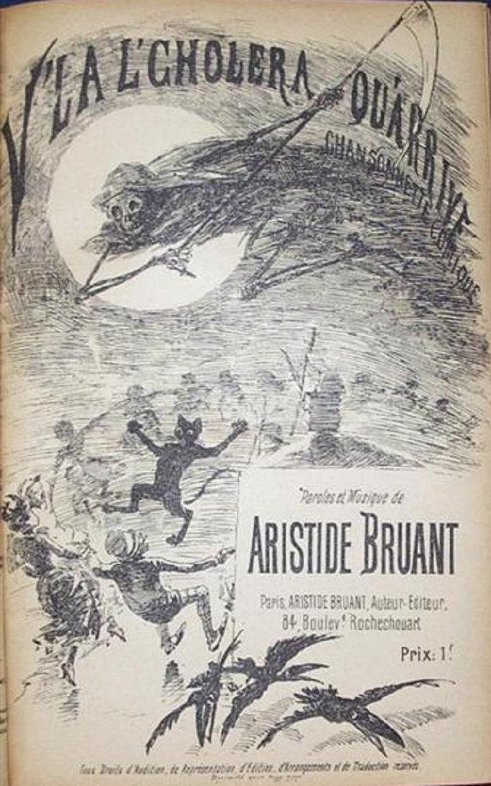 V'La L'Cholera Qu-arrive, 1885