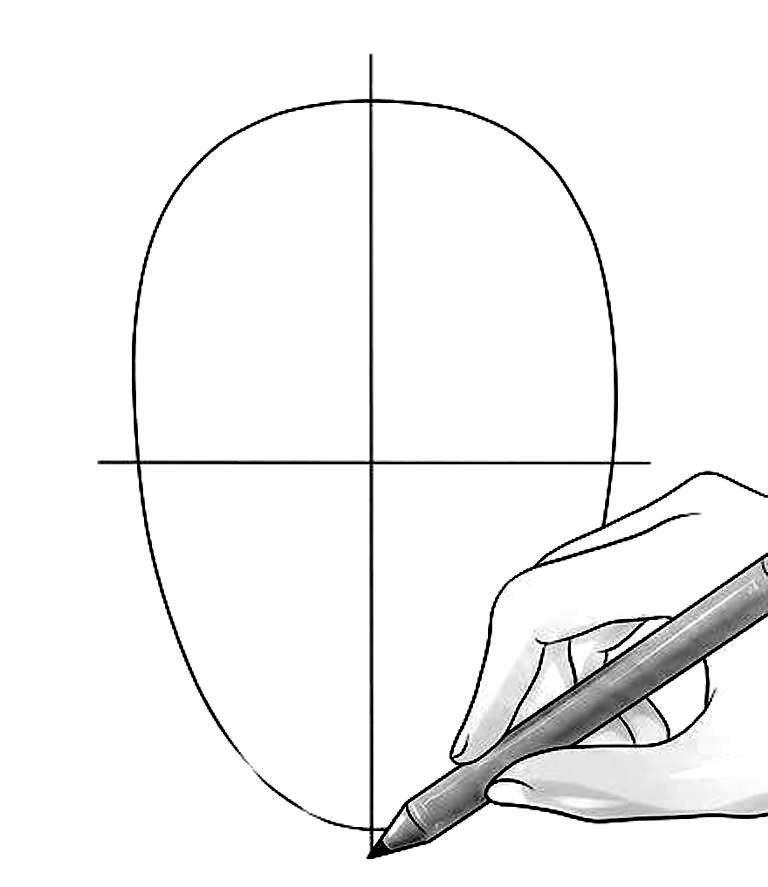 Bagaimana Cara Menggambar Wajah Sederhana Seni Rupa Dictio
