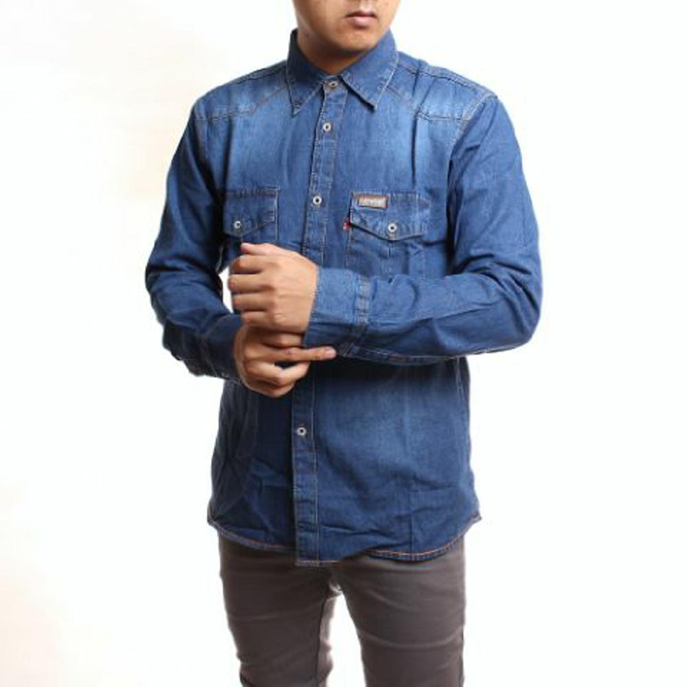 Kemeja_levis_pria___kemeja_jeans_pria___kemeja_denim