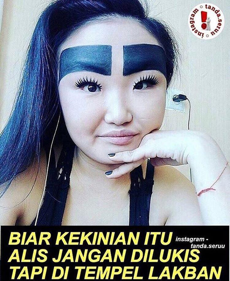 Meme Alis Tebal Humor Dictio Community
