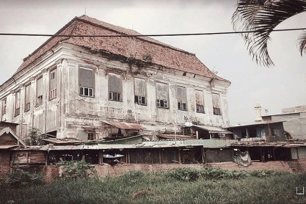 Image result for bekas pabrik padi ketintang