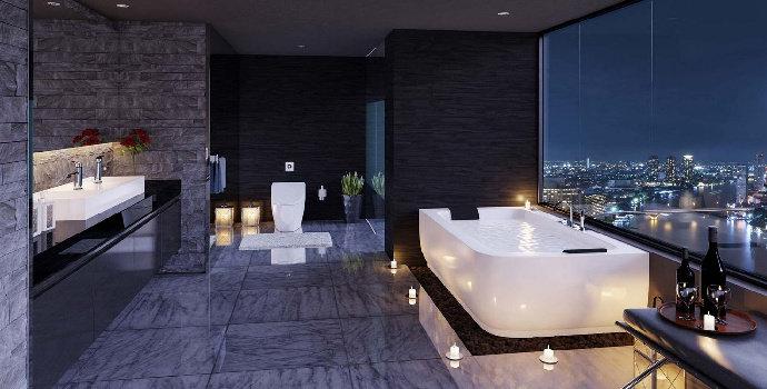 toilet hotel keren