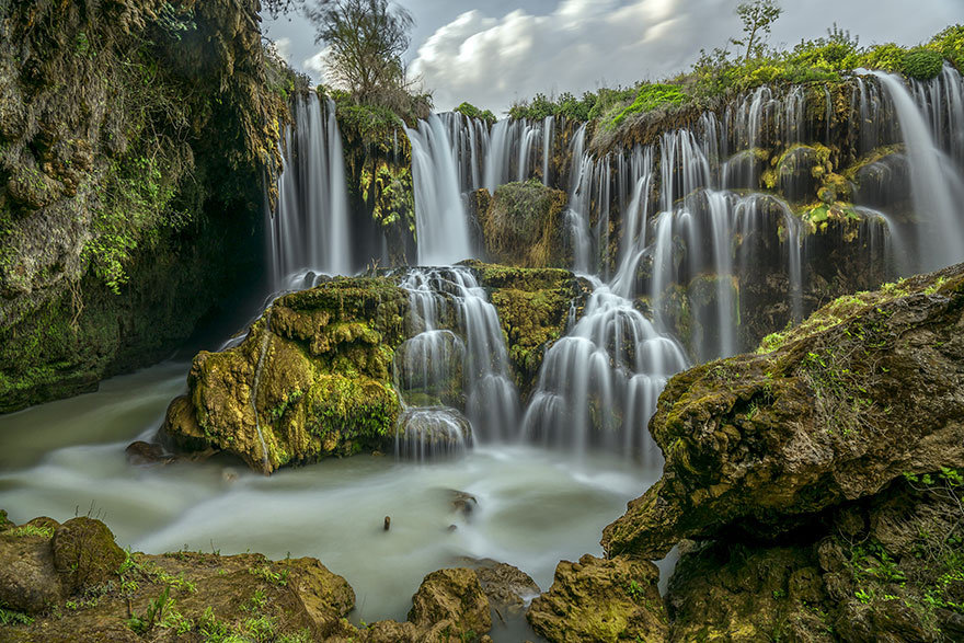 Goksu Waterfall, Ozgur Secmen, Turkey