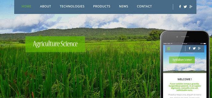 website pertanian