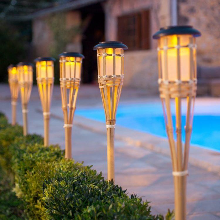 Membuat Lampu Taman Dar Bambu Ilmu Seni Kriya Dictio Community