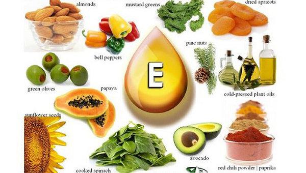 Makanan sumber vitamin E