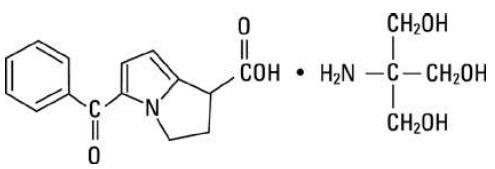 Rumus Bangun Ketorolak Tromethamine