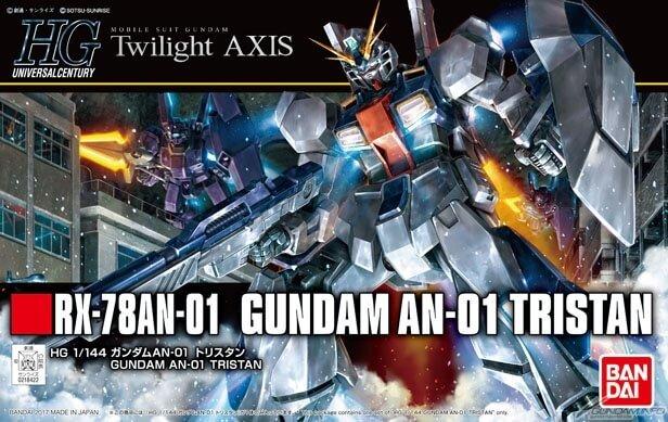 """HGUC 1/144 Gundam AN-01 """"Tristan"""""""
