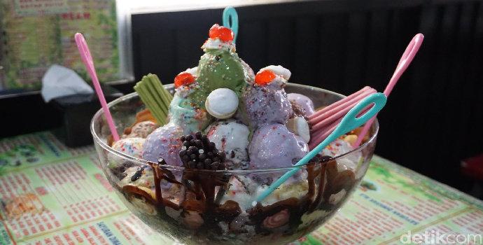 Bagaimana cara membuat Ice Cream Marshmallow?