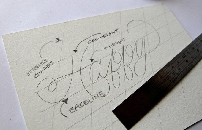 Красивыми буквами подписать открытку