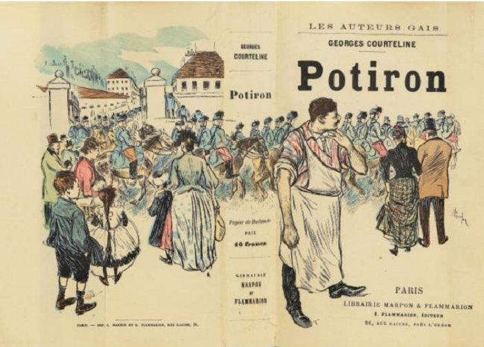 Potiron, Theophile Steinlen, 1890