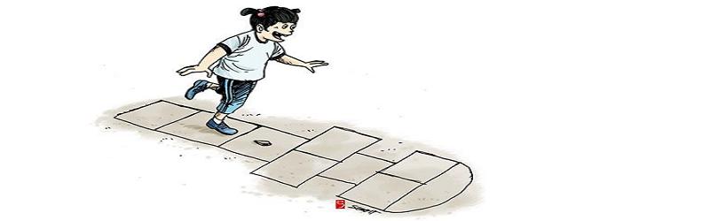 Engklek Permainan Melompat Dengan Satu Kaki Yang Memiliki Arti Filosofi Dictio Community
