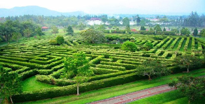 Taman Labirin Bunga Nusantara