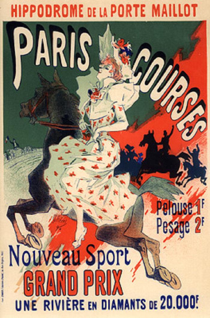 Hippodrome de la Porte Maillot, Paris Courses, 1900