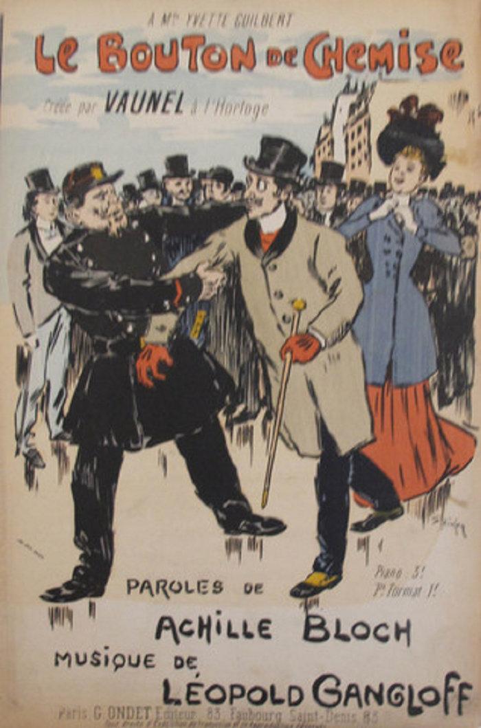 Le Bouton de Chemise, Theophile Steinlen, 1892