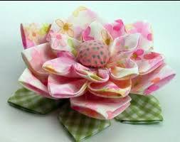 Kerajinan tangan berupa bunga dari kain perca  - Seni Kriya - Dictio ... 8693b1a63a