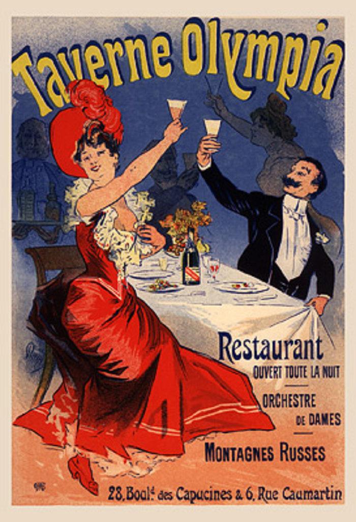 Taverne Olympia, Restaurant, 1896