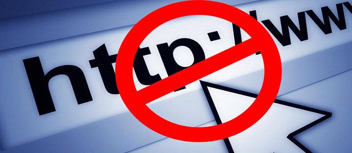 Membuka situs web yang diblokir
