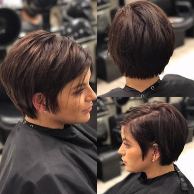 Rekomendasi Model Rambut Pendek Beauty Dictio Community