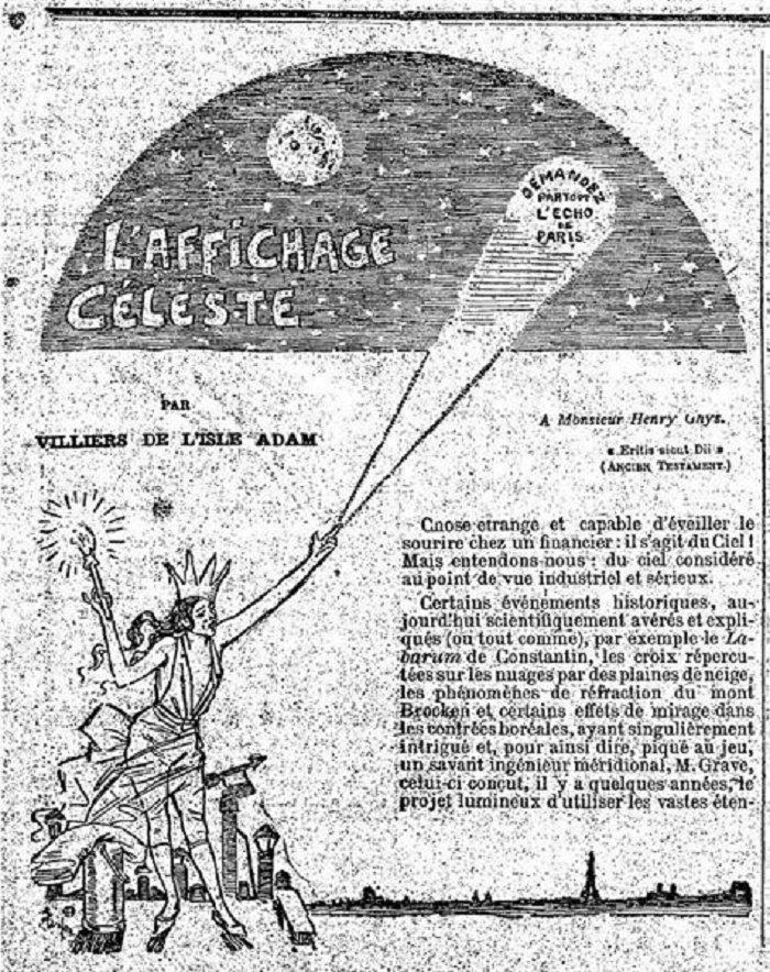 L'Affichage Celeste, Theophile Steinlen, 1891