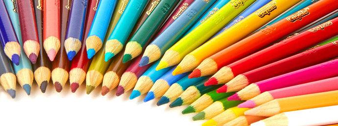 Gambar pensil warna