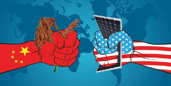 perdagangan AS dan China