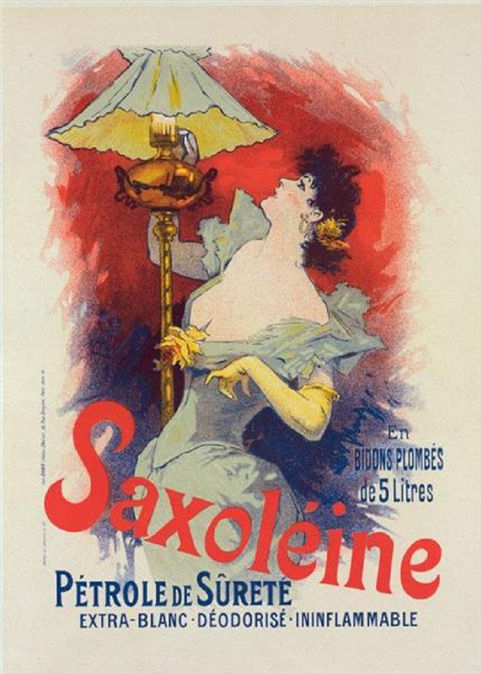 Saxoléine, Pétrole de sureté, 1900