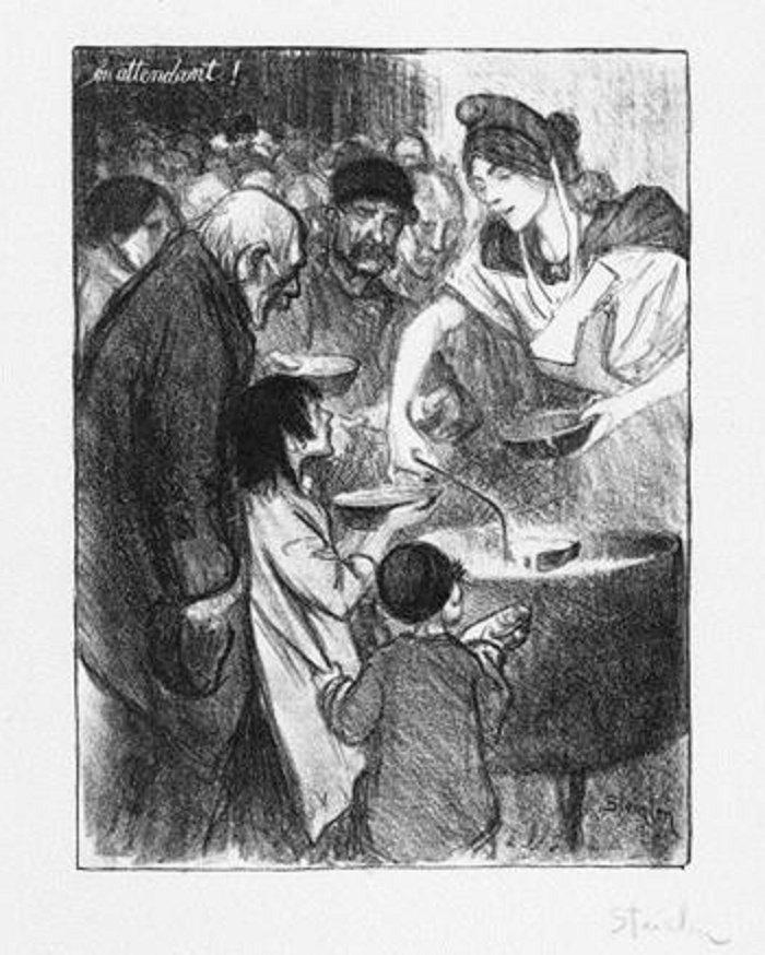 En Attendant, 1895