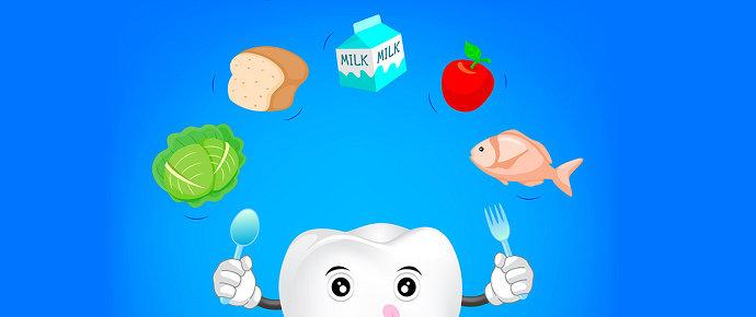 Makanan sehat untuk gigi