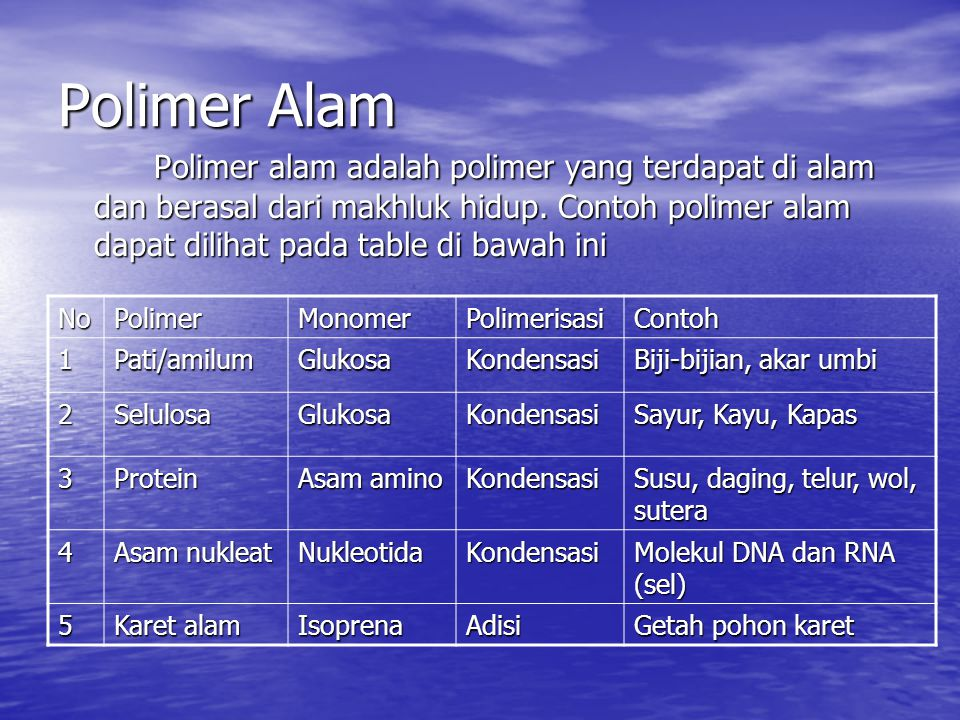 Polimer-Alam
