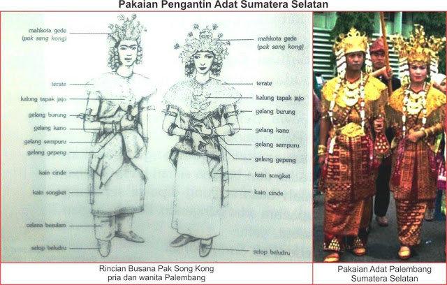 Bagaimana Karakteristik Pakaian Adat Sumatera Selatan Ilmu Fashion Dictio Community