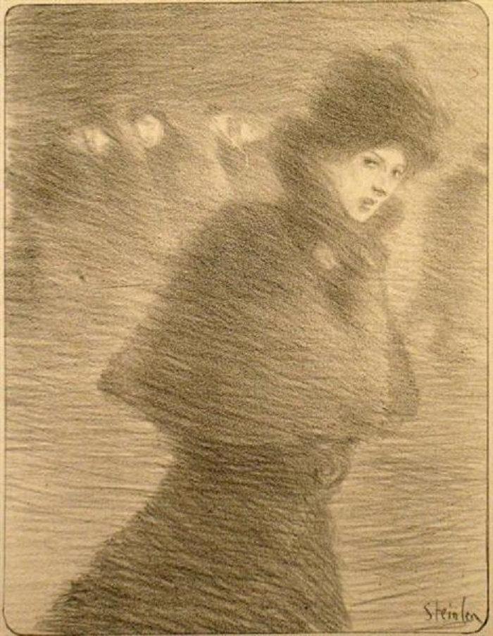 Une Femme Qui Passe, 1897