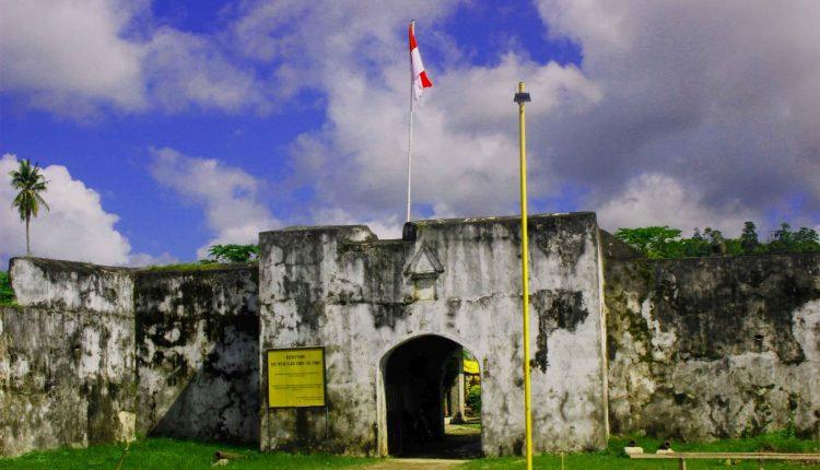 Benteng De Verwacthing di Maluku Utara