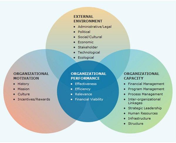 Faktor-faktor yang mempengaruhi kinerja organisasi menurut Lusthaus