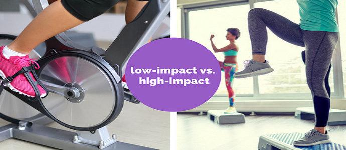 high impact dan low impact