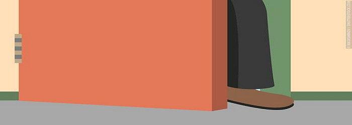 Teknik foot in the door