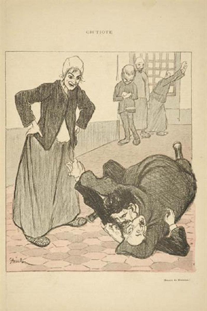 Ch-tiote, Theophile Steinlen, 1893