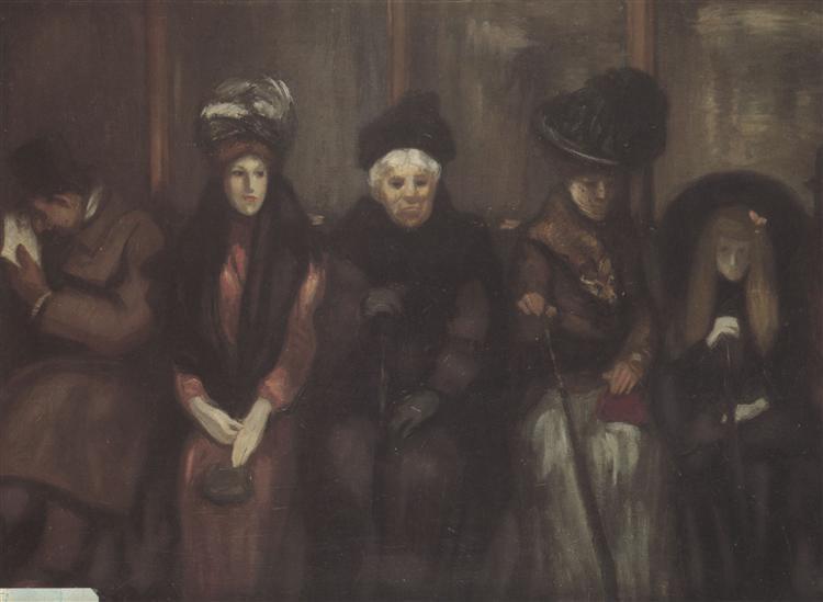 Dans Le Tramway, 1890