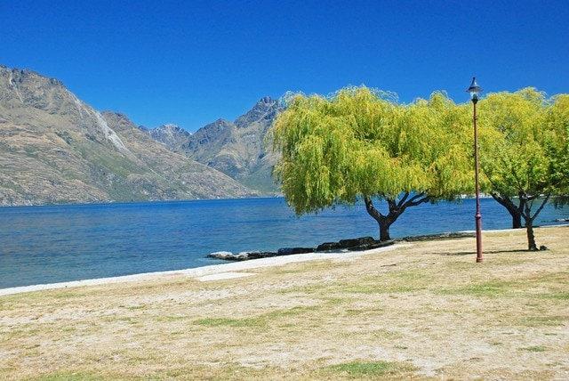 Wakatipu Lake di Queenstown, New Zealand