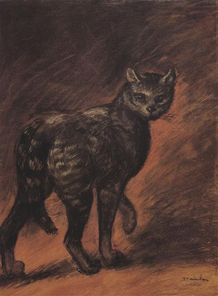 Cat, 1906