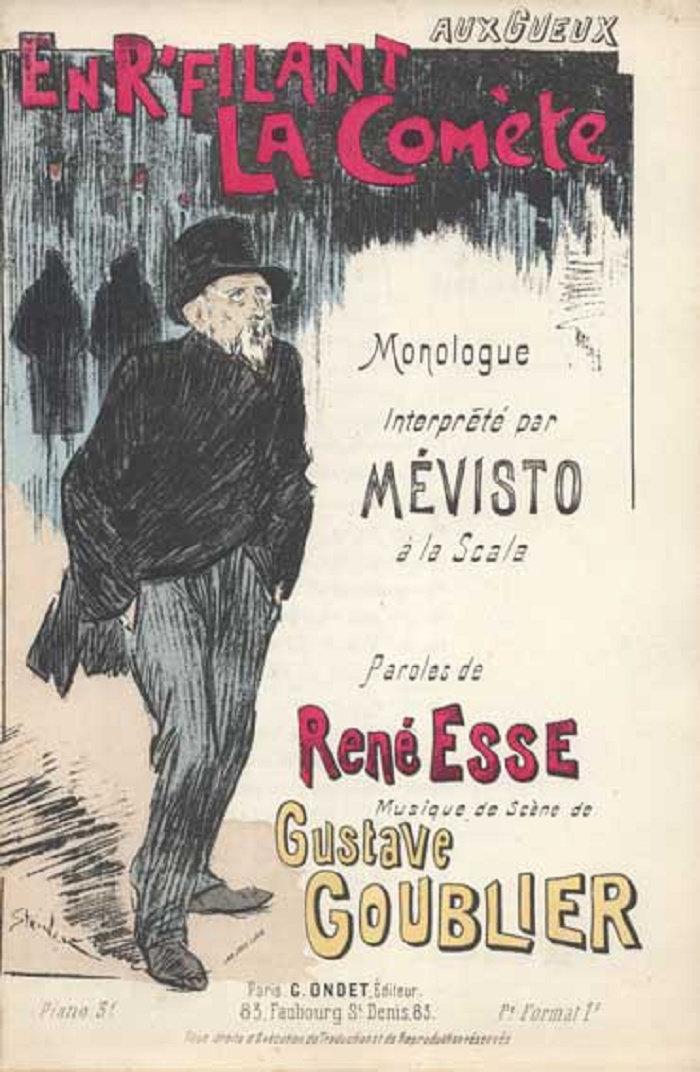 En R-filant La Comete, Theophile Steinlen, 1893