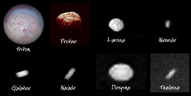 Satelit-satelit alam Neptunus